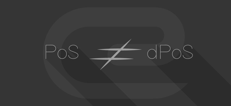 PoS vs dPoS