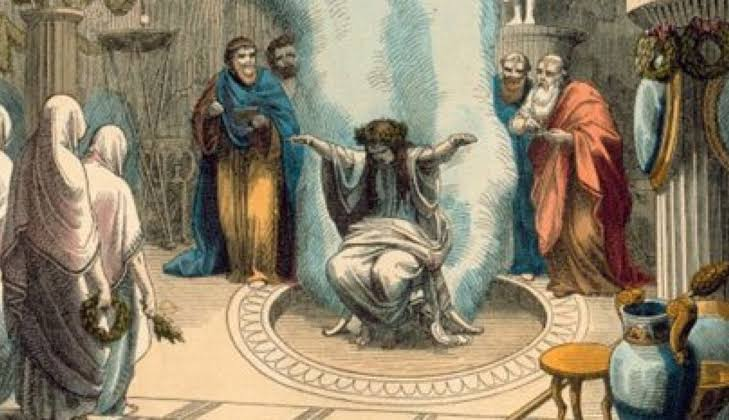 Pythia - Greek Oracle at Delphoi