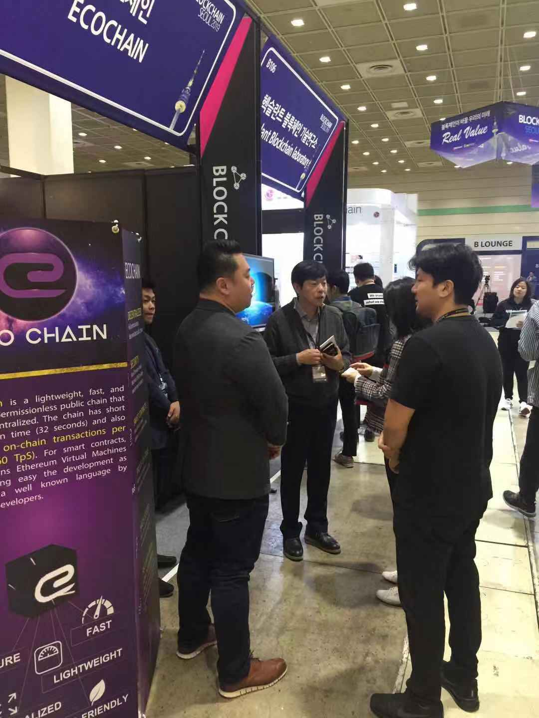 ECOC Seoul event booth